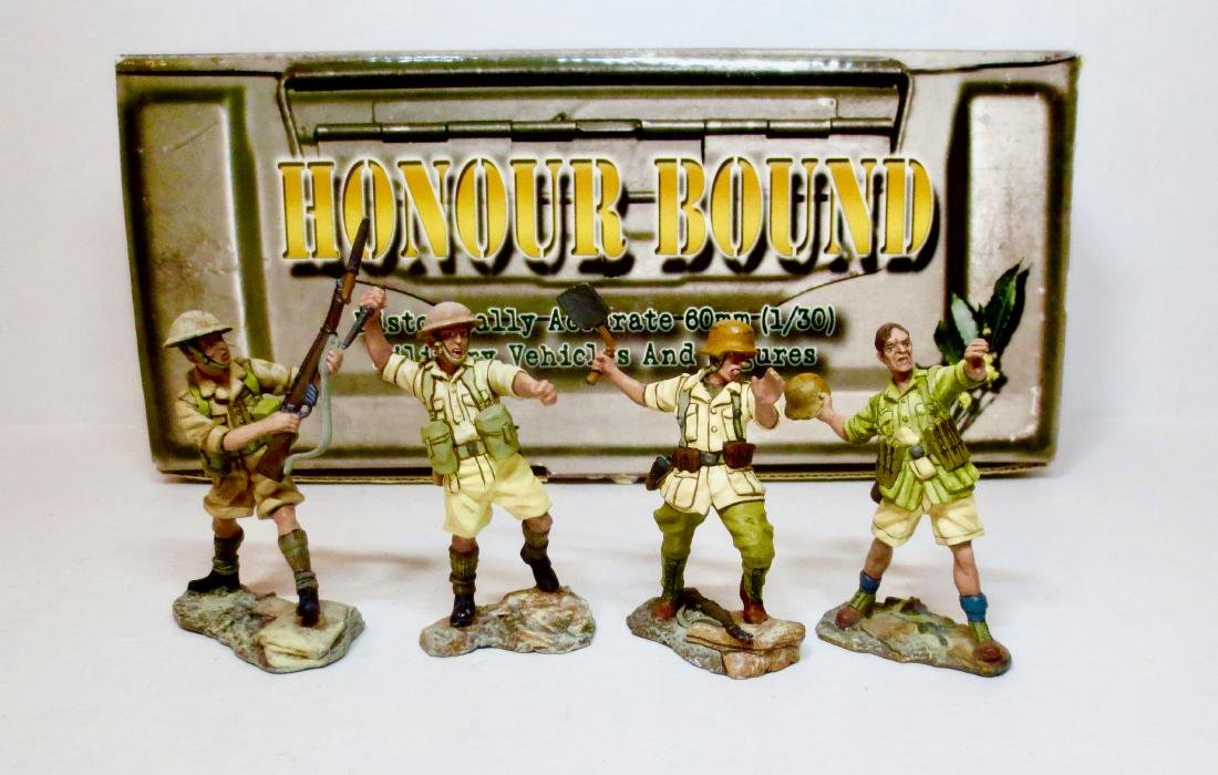 Honour Bound Set #HB47 British and German Troops