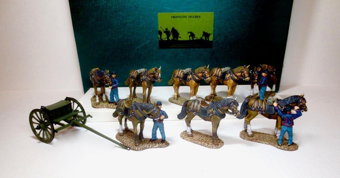 Frontline Union Artillery Limber Assortment