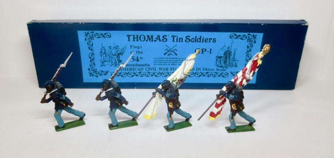 Thomas Tin Soldiers Set #CP-1 Flags of the 54th