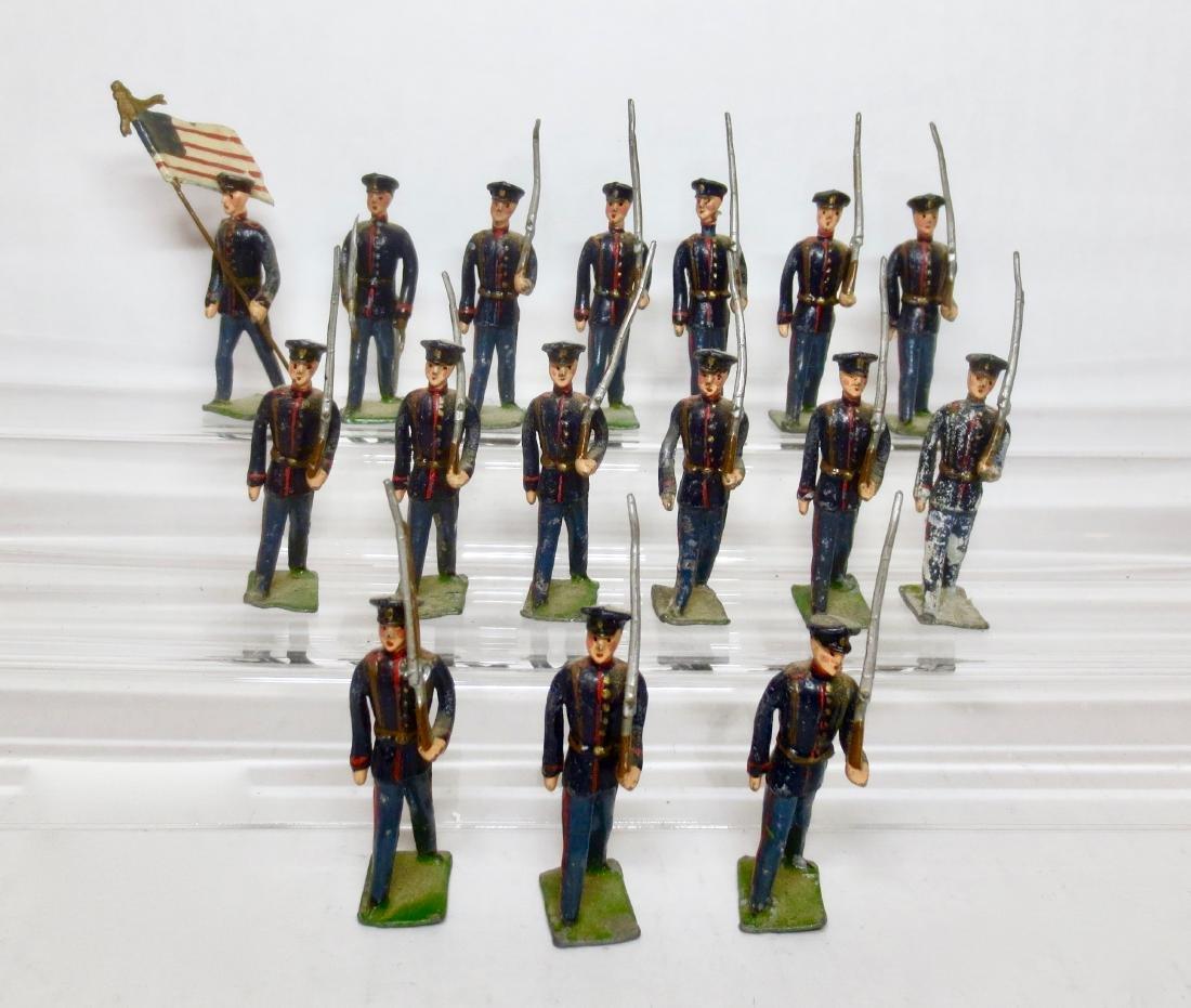 German Maker Plug head U.S. Infantry