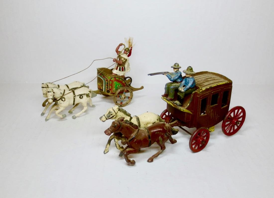 Johillco Chariot & Stage Coach Sets