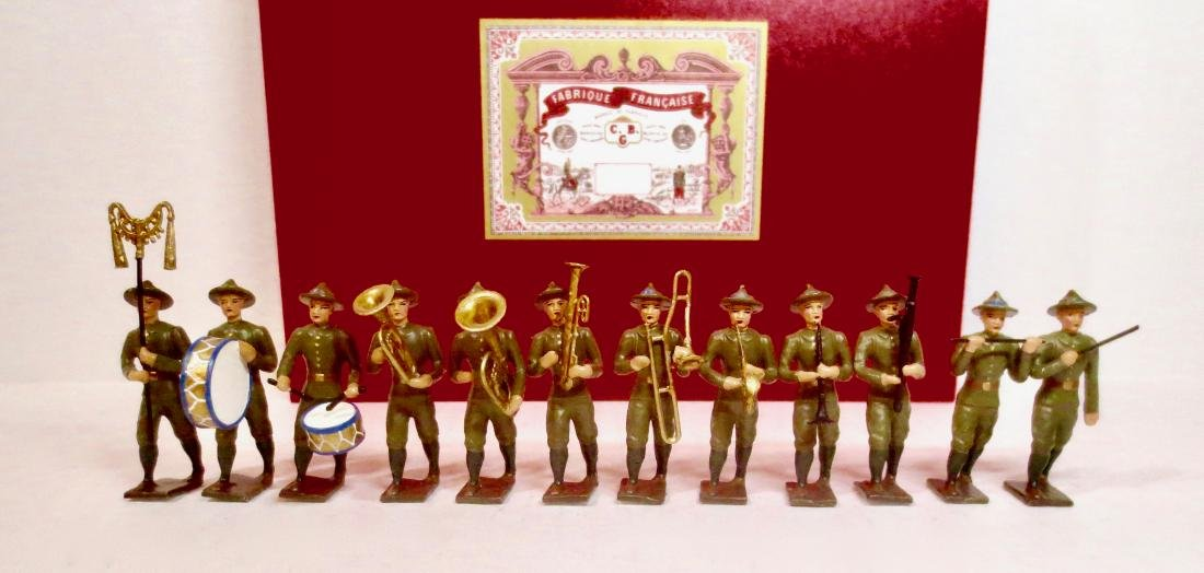 C.B.G Mignot WW1 American Doughboy Band
