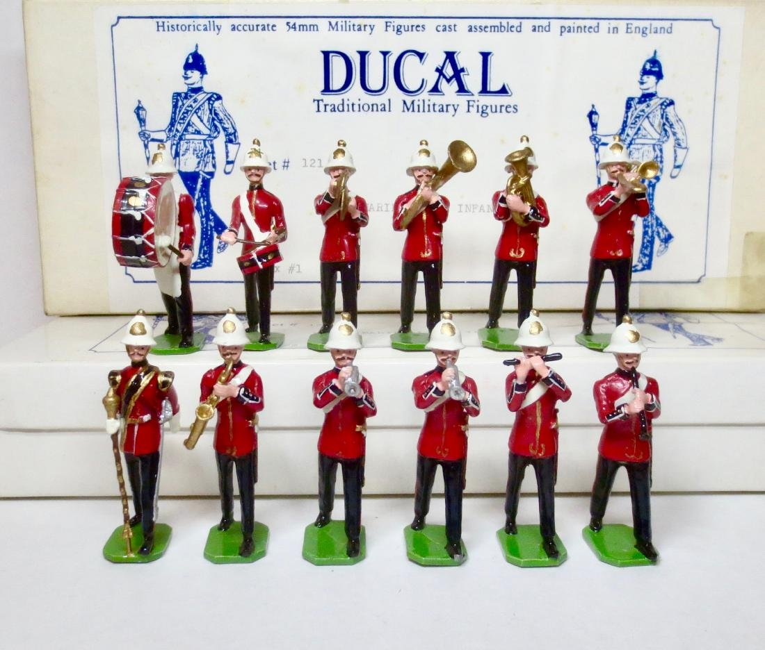 Ducal Set #121 Royal Marine Light Infantry Band