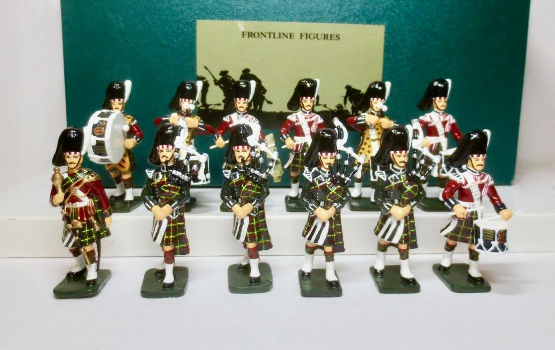Frontline Set #P.D.B.11. British Queen's Own