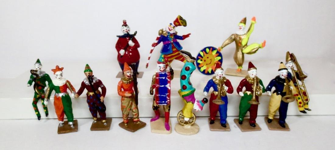 Various Makers Solid Cast Clown Assortment