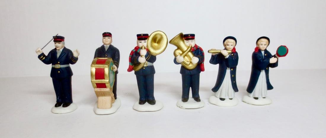Lefton Bisque Salvation Army Set