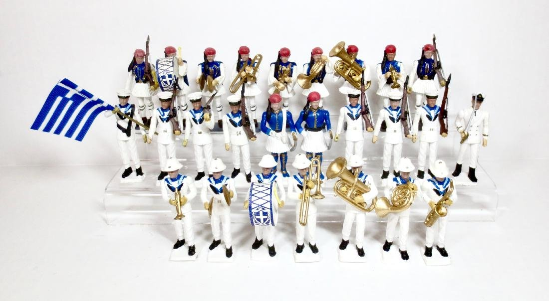Ahona Plastic Greek Military Band Assortment