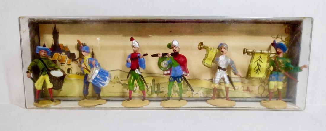 Merten Plastic Medieval Band Set