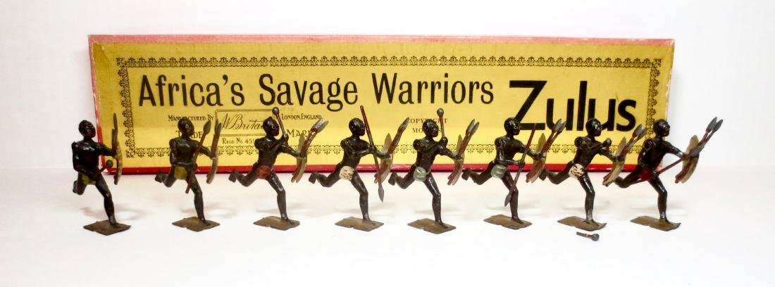 Britains Set #147 Africa's Warriors Zulus