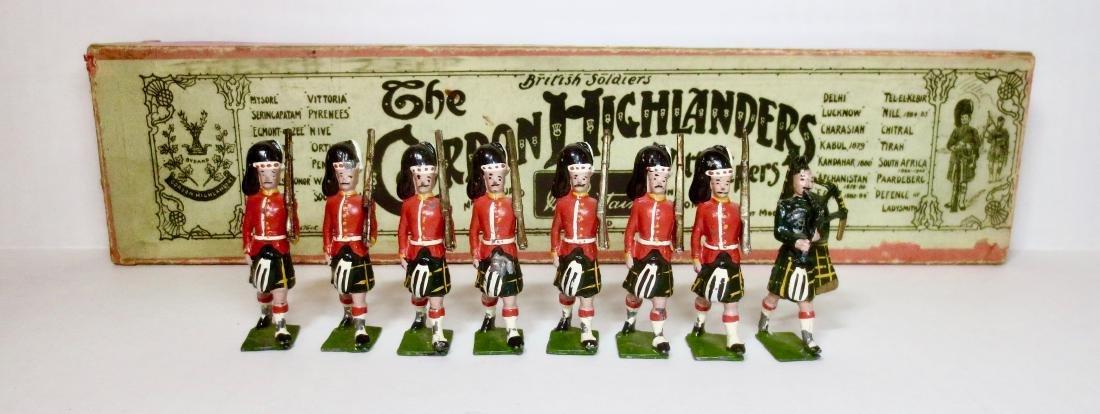 Britains Set #77 The Gordon Highlanders