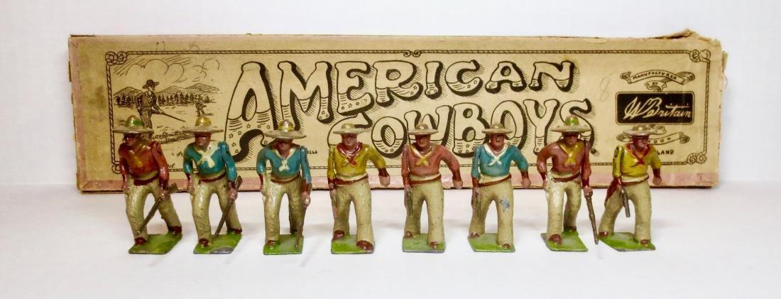 Britains Set #133 American Cowboys