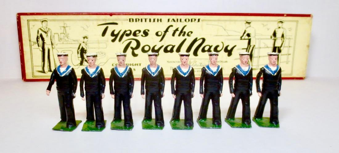 Britains Set #1510 Types Of The Royal Navy