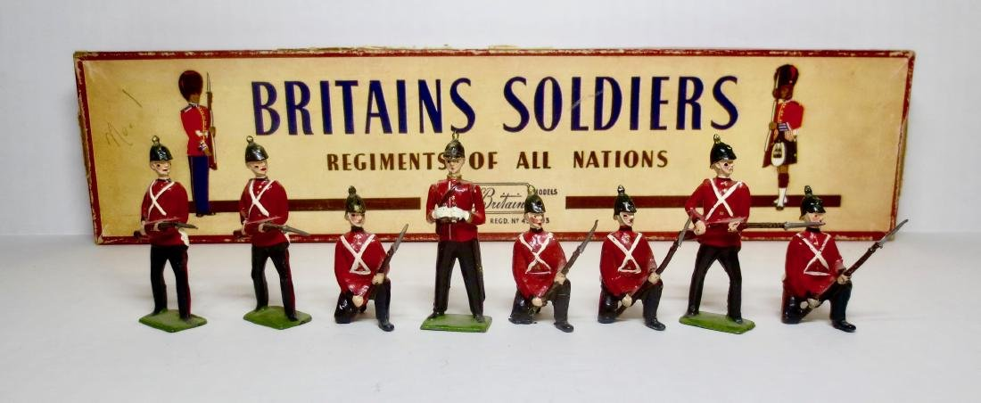 Britains Set #17 The Somerset Light Infantry