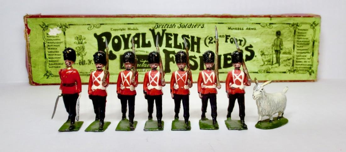 Britains Set #74 Royal Welsh Fusiliers 23rd Foot