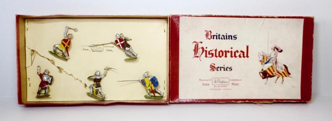 Britains Set #1664 Knights of Agincourt