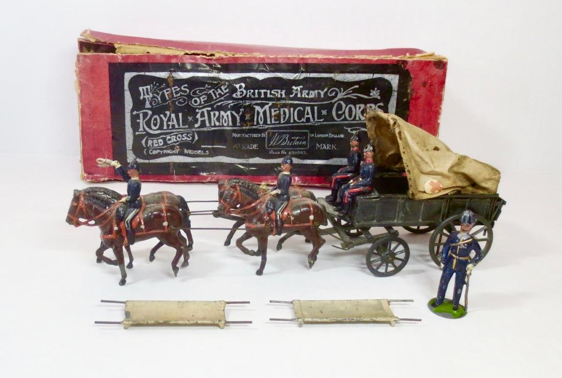 Britains Set #1450 Royal Army Medical Corps