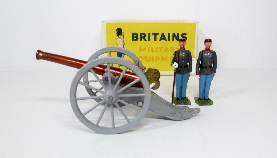 Britains Set #667 Confederate Artillery