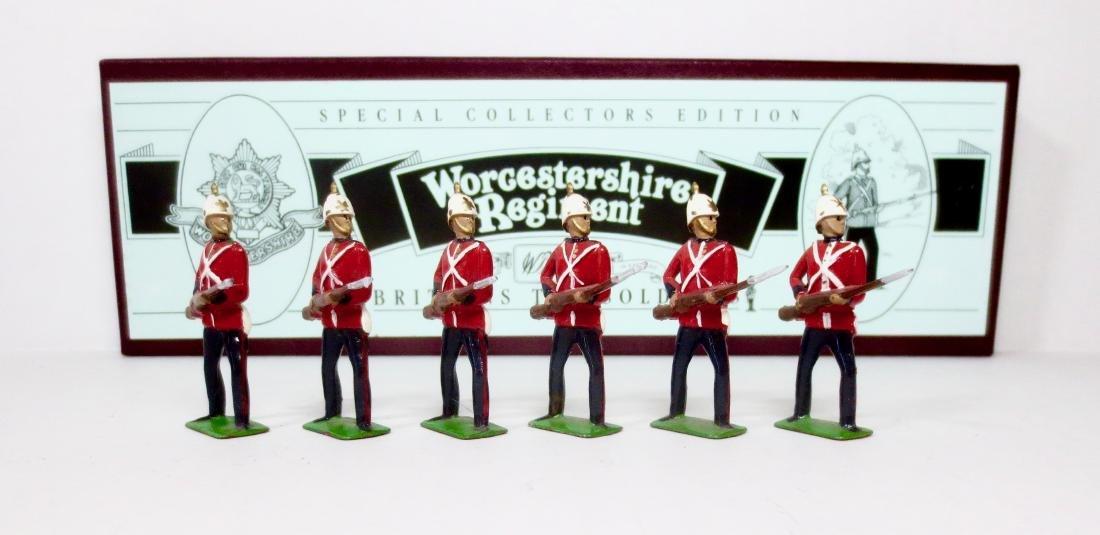 Britains Set #8802 Worcestershire Regiment