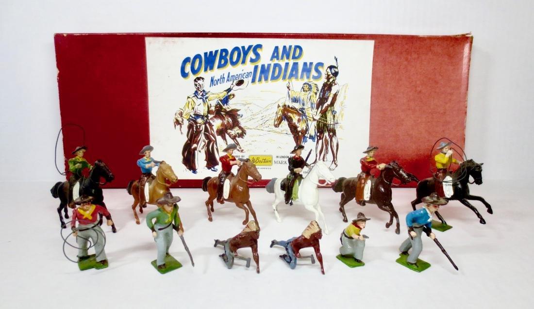 Britains Set #209 Cowboys And Indians