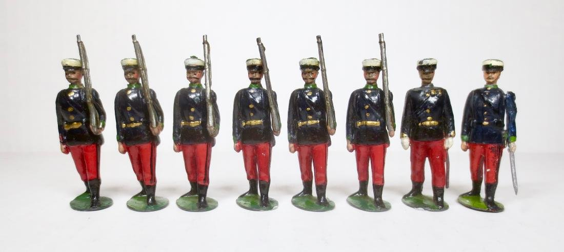 Britains from Set #92 Spanish Infantry at Slope