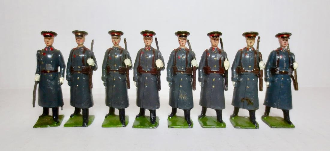 Britains Set #2027 Russian Infantry With Officer