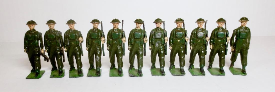 Britains from Set #1858 British Infantry