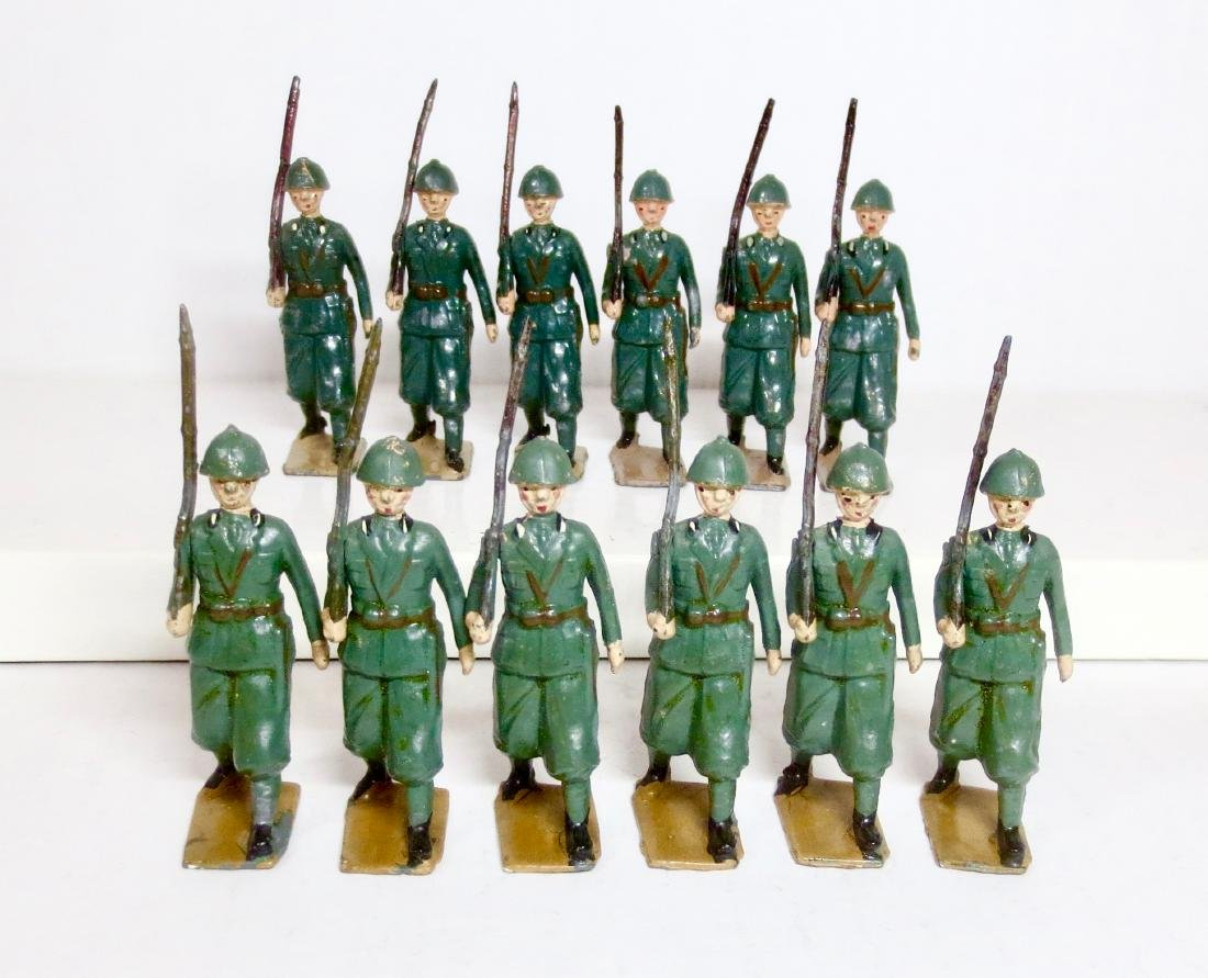 Britains From Set #1435 Italian Infantry