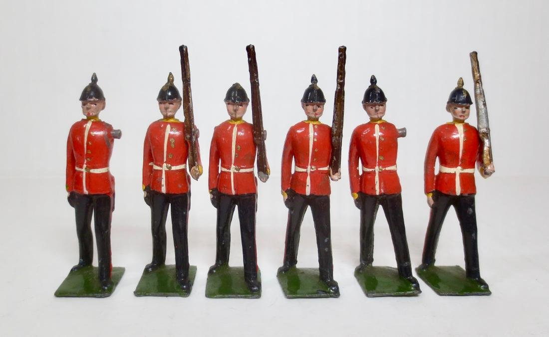Britains From Set #76 Middlesex Regiment