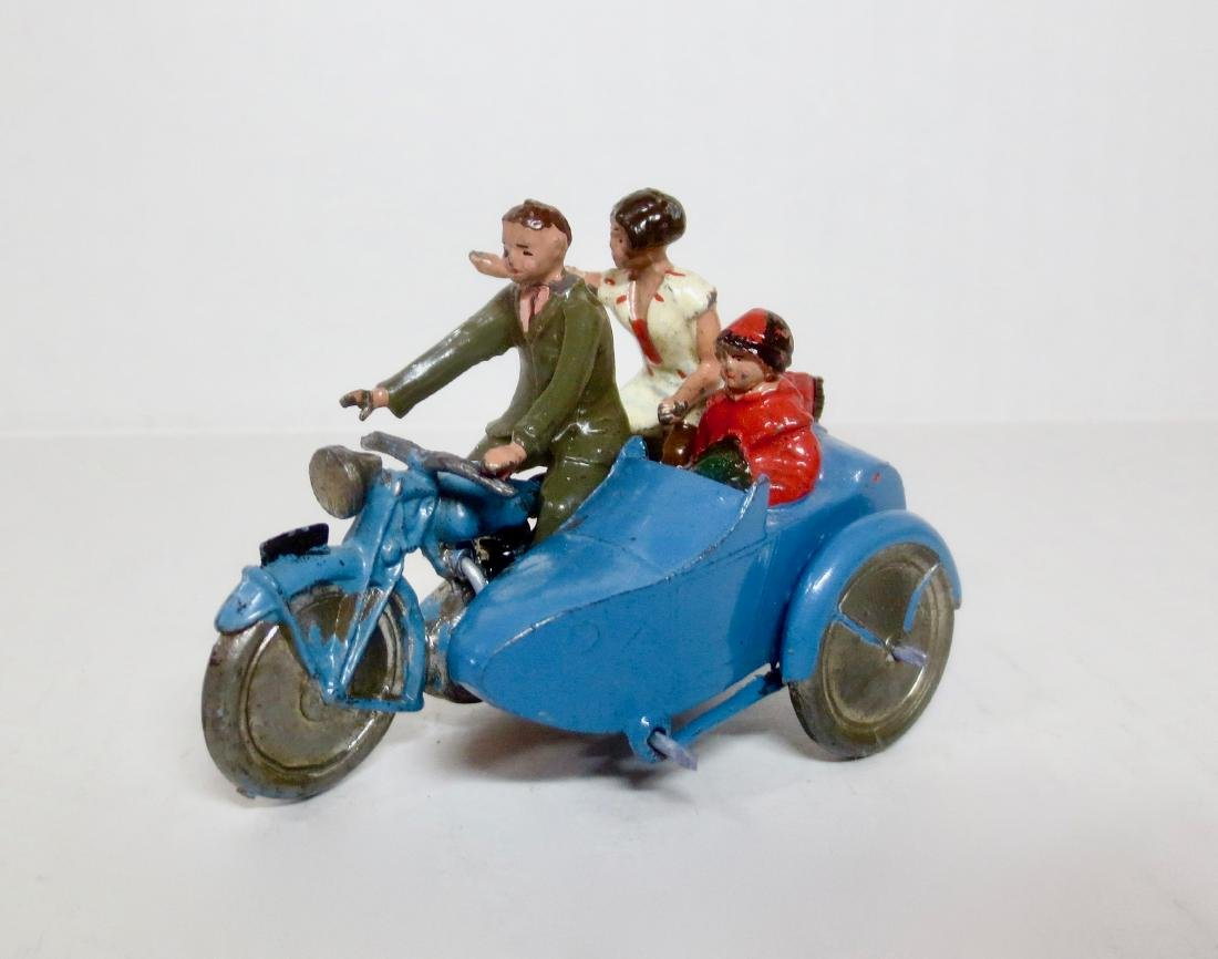 Britains Set #641 Rare Civilian Motorcycle