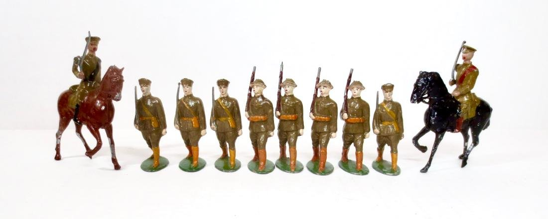 French Hollowcast British Infantry & Cavalry