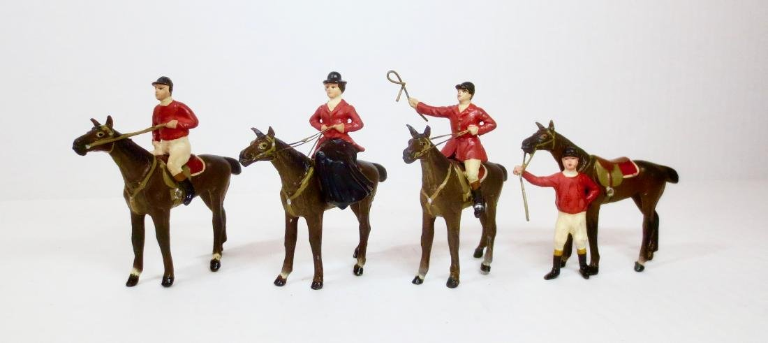 Heyde 70mm scale Hunt and Racing Jockeys