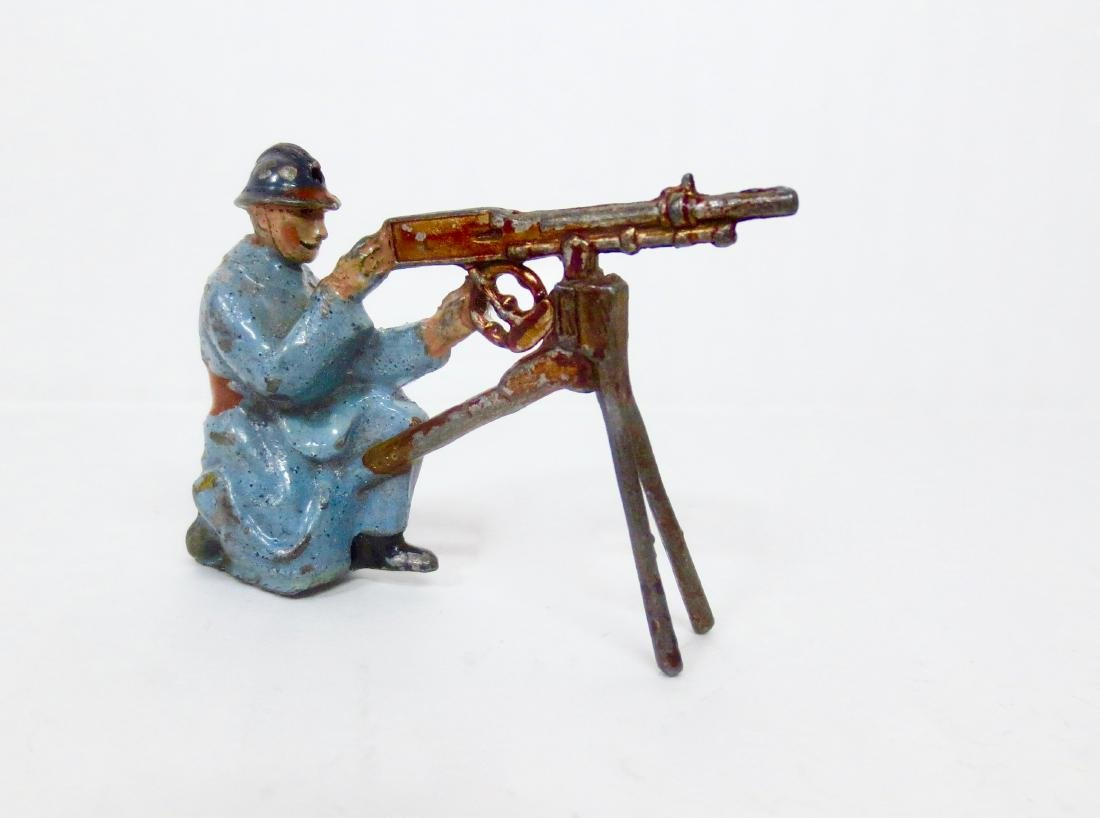 Britains Paris Office French Machine Gunner