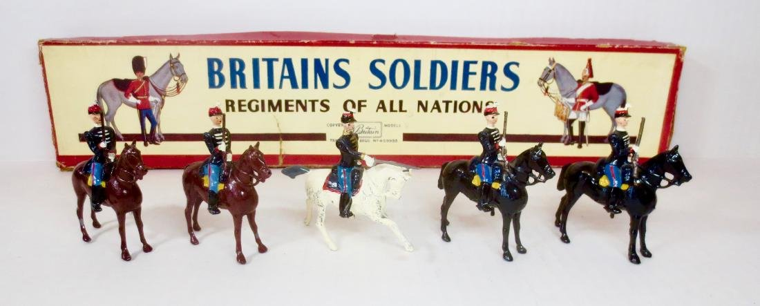 Britains Set #190 Belgian Army Chasseurs