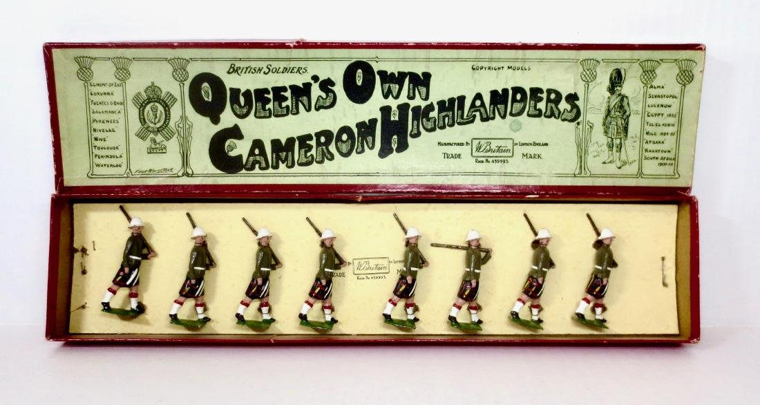 Britains Set #114 Queen's Own Cameron