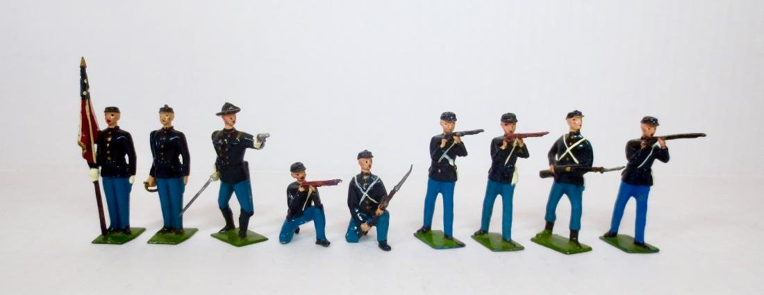 Britains From #2059 Union Infantry Assortment