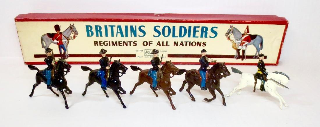 Britains Set #2056 Civil War Union Cavalry