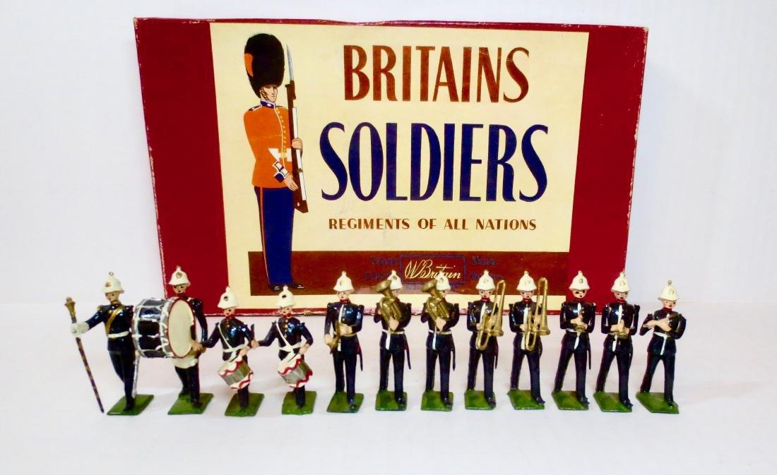Britains Set #1291 Band of The Royal Marines