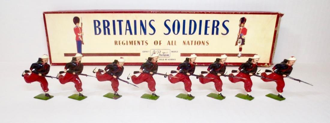 Britains Set #142 Zouaves Charging