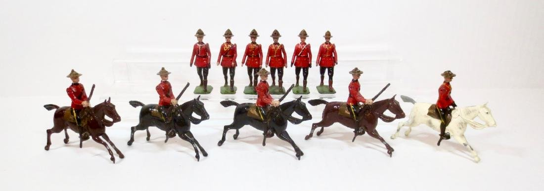 Britains Royal Canadian Mounted Police Asst.