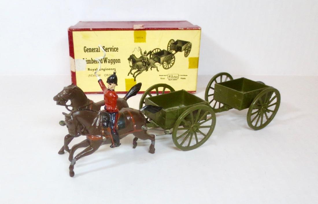 Britains Set #1330 G.S. Limbered Wagon
