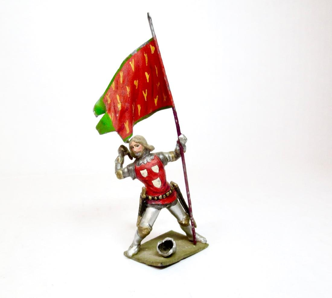 Courtenay Ping Standing Knight with Banner