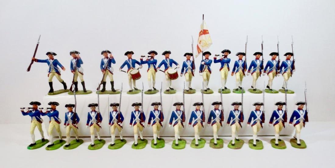 Elastolin Plastic Brunswick Prussian Infantry