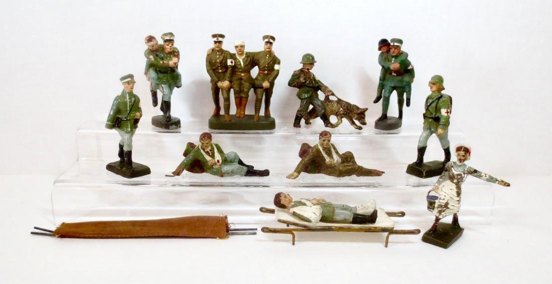 Elastolin Composition WW2 Medical Assortment