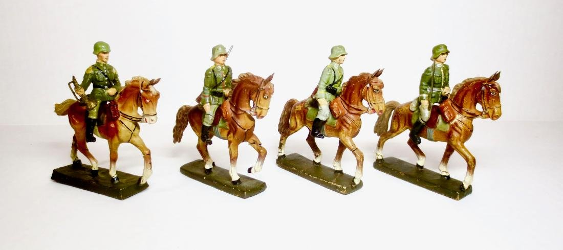 Elastolin Composition WW2 German Cavalry
