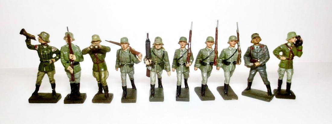 Lineol Composition WW2 German Assortment