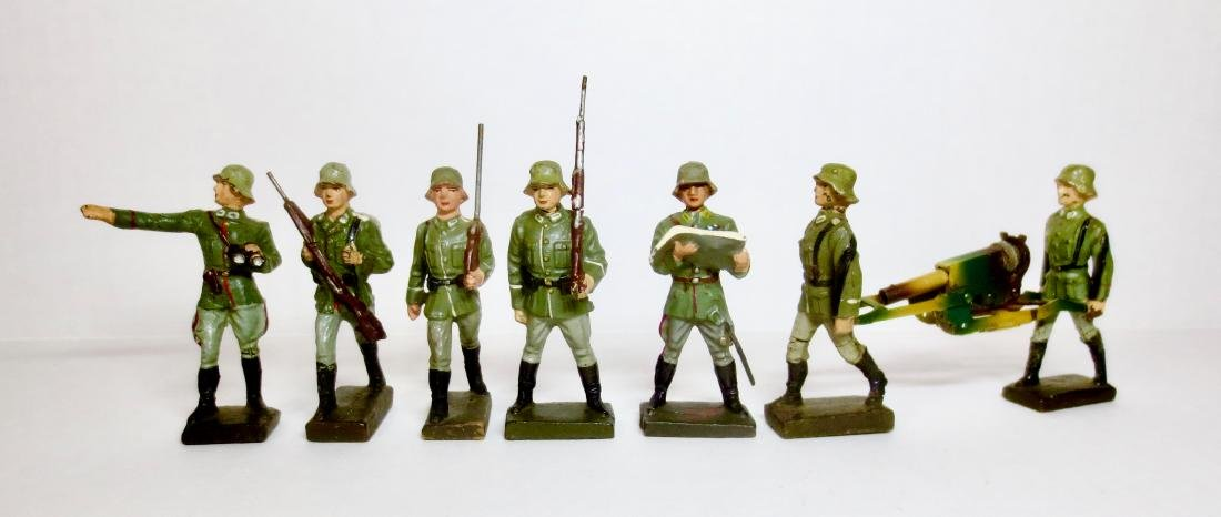 Lineol Composition WW2 German Infantry