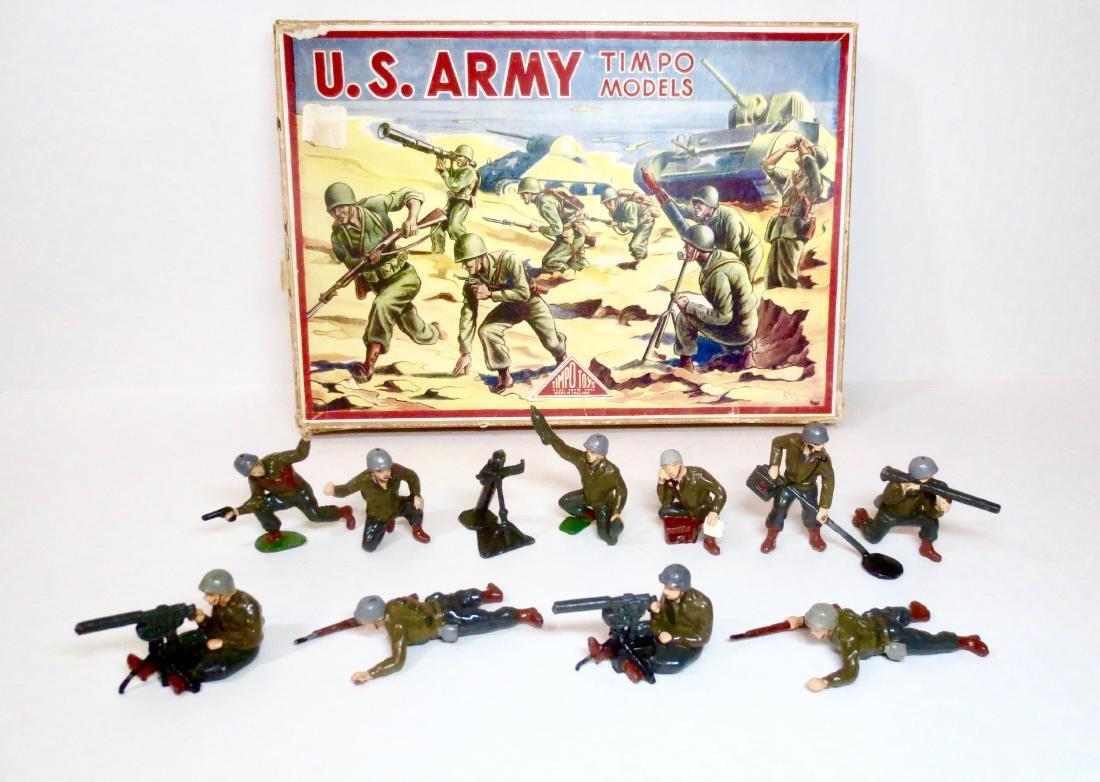 Timpo Set #939 U.S. Army Series