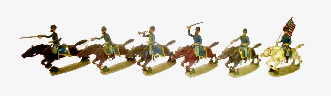 Mignot ACW Union Cavalry Charging
