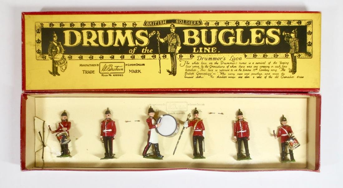 Britains Set #30 Drums and Bugles of the Line