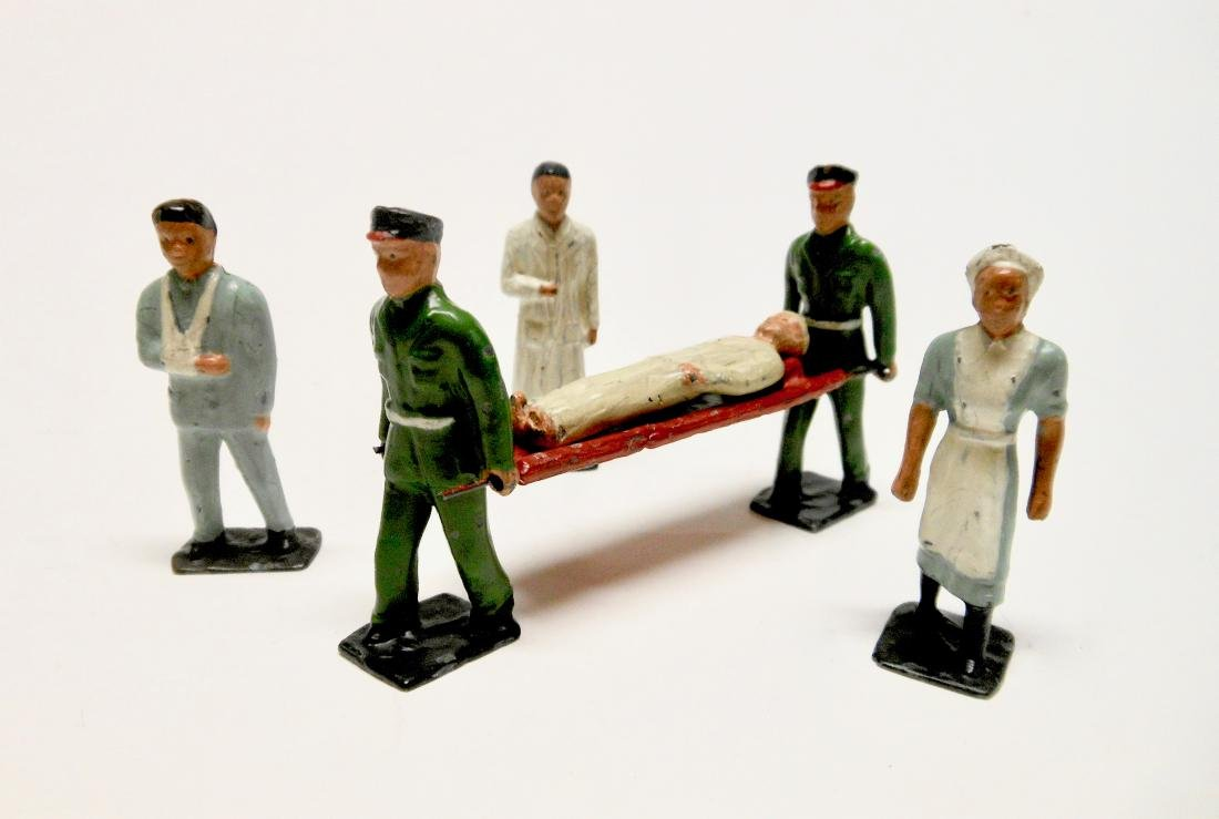 Kay VERY RARE Hospital Civilian figures